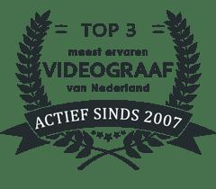 Prijs - Videograaf Nederland meest ervaren sinds 2007