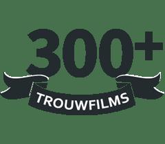 Prijs - Videograaf aantal trouwfilms gefilmd
